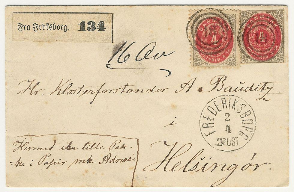 afsender på brev